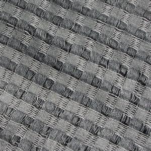 REA! Stor grå bomullssjal från Guatemala