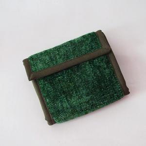 Grön plånbok i bambu