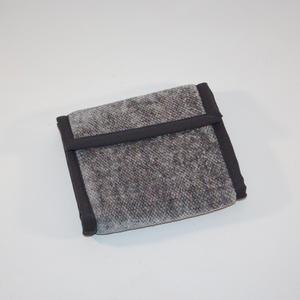 Grå plånbok i bambu