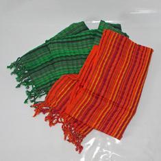 Härliga bomullssjalar från Guatemala