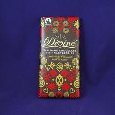 Mörk choklad med hallon