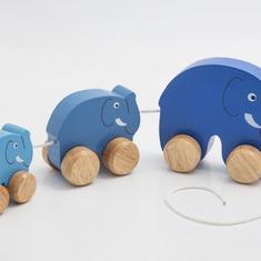REA! Elefantfamilj