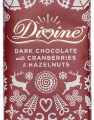 Mörk choklad med tranbär och hasselnöt